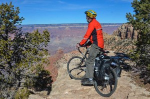 John-biking-into-the-canyon
