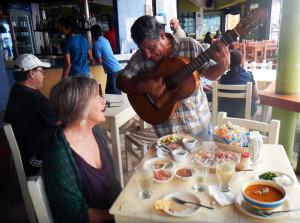 serenade in Matzatlan