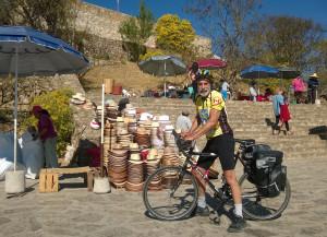 John biking to Moute Alban