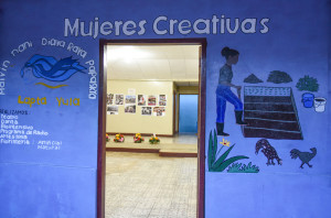 Mujeres Creativas inside and outside (1 of 1)