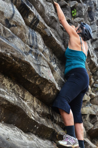 Deb the climber (1 of 1)
