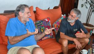 John and Eduardo talking (1 of 1)